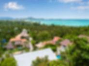 Villa Alba - View over Chaweng Bay