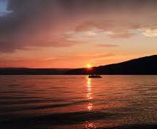 Sunny Point Sunset