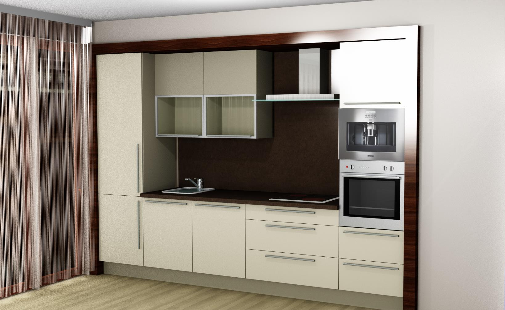 Vizualizace kuchyně