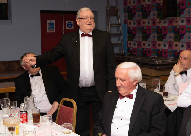 E.Comp. Foster Clyde replying to the toast to the Visiting Companions.