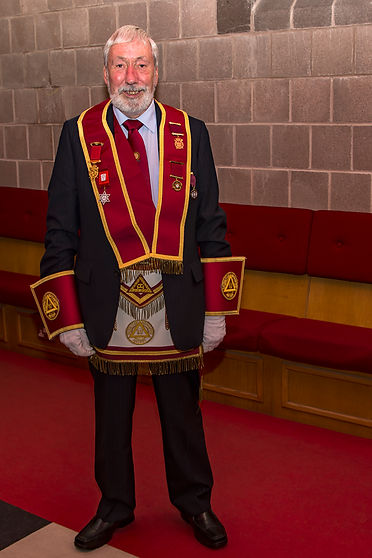 Past District Grand Standard Bearer, V.E.Comp Bill McClenaghan.