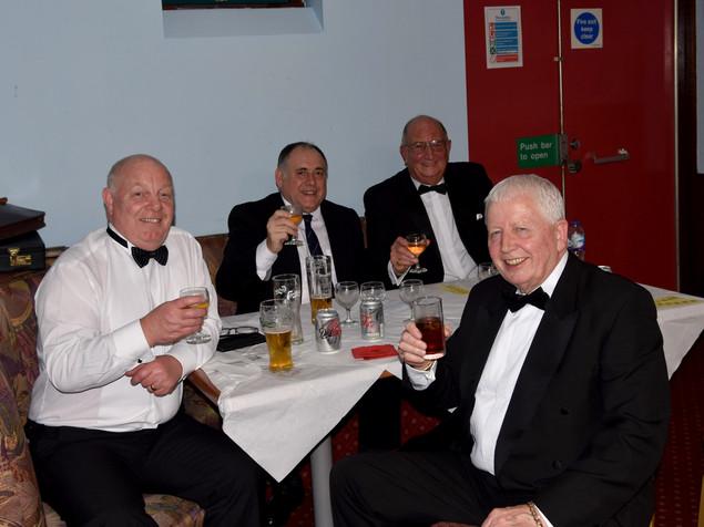 Brethren Enjoying the Festive Board