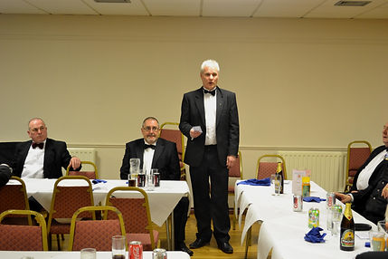 Abbey Royal Arch Chapter 180 2015: Companion Gary Spiers proposing the toast to absent Companions.