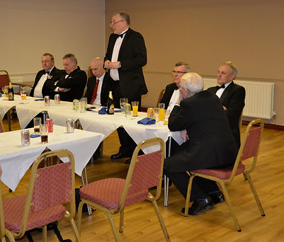 Abbey Royal Arch Chapter 180 2015: E.K. Freddie Hoy replying to his Toast of Excellent King.