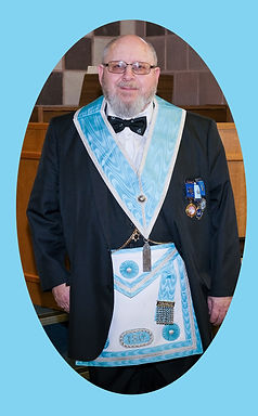 Junior Warden Bro. Hugh Blair