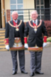 Most Excellent Companion, the District Grand King, Cyril Ferguson, of the District Grand Royal Arch Chapter of Antrim.