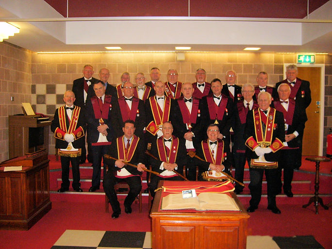 Excellent King William Shaw accompamied by his Officers and Companions after his installation.