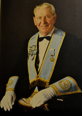 W.Bro. Tom Williams PPGS, Director of Cemonies in Abbey Masonic Lodge 180.