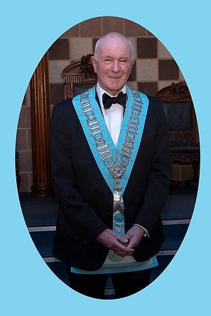 Worshipful Master, Lee Burnside