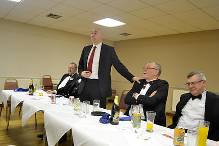 Abbey Royal Arch Chapter 180 2015: V.E.Comp. Simon Lusty replying to his toast of Installing Officer.