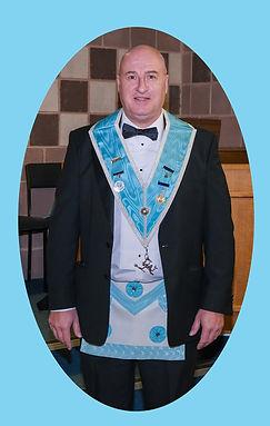 Senior Deacon Bro. Mark Stockard