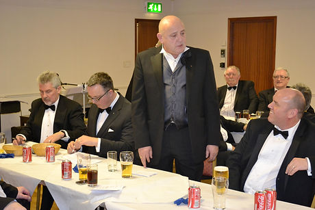 Abbey Royal Arch Chapter 180 2015: Companion Stephen Houston proposing the toast to the Visiting Companions.