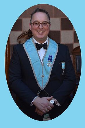 Secretary, W.Bro. Ian Eachus
