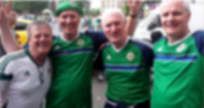 Abbey 180 Worshipful Master, Terry Moore meets up the Spiers Brothers at the Euros.