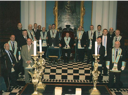 Wor. Bro. George Burnside, Abbey Masonic Lodge 180 and assembled Brethren in the Grand Lodge of Ireland, Molesworth Street, Dublin.