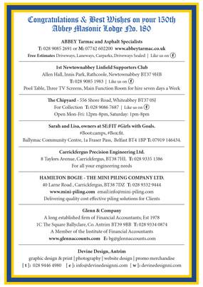Gala Night menu Page 4