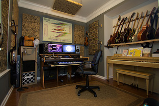 Finished New Home Studio!