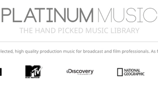 "Just signed on with ""Platinum Music"""