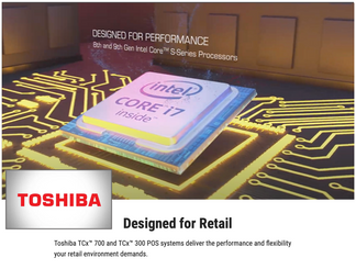 Custom Music Track for Toshiba P.O.S. Device