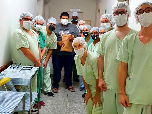 Profissionais de saúde salvam vidas na linha de frente