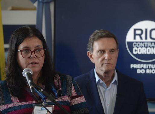 Secretária de Saúde do Rio é internada com suspeita de covid-19