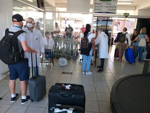 GOL e Azul cancelam voos no Aeroporto de Cascavel
