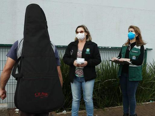 Uso de máscaras: Vigilância Sanitária de Cascavel divulga balanço da fiscalização