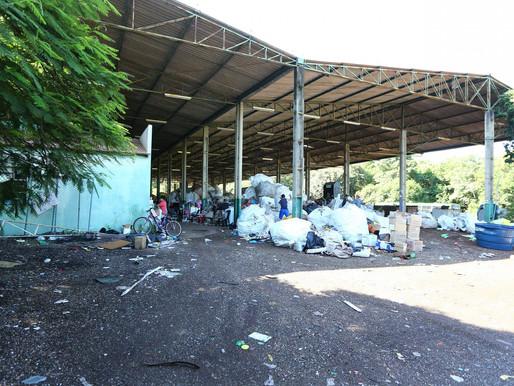 """Lixo reciclável será colocado em """"quarentena"""""""