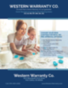 Western Home Warranty Plasn and Contract