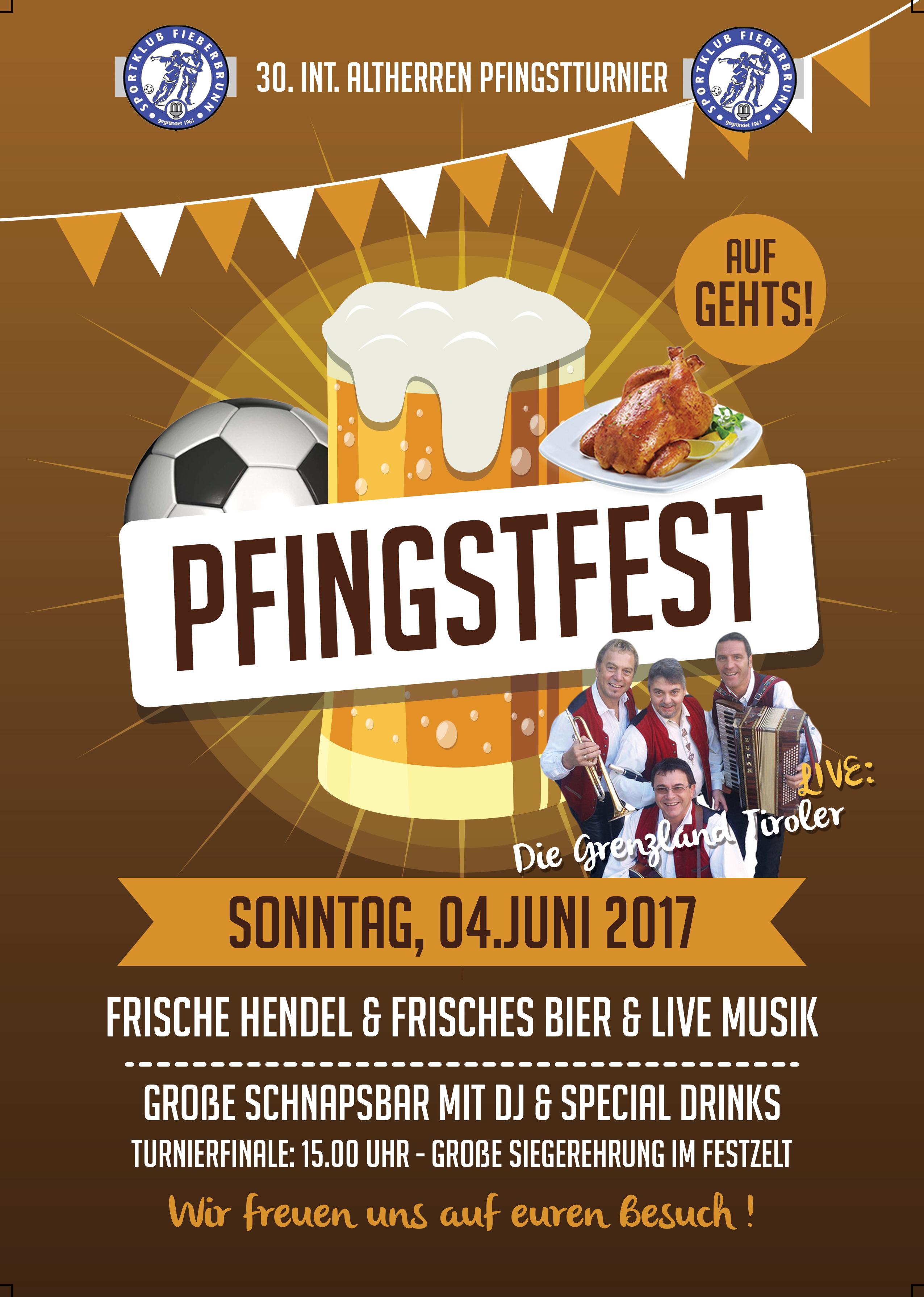 Plakat Pfingstfest