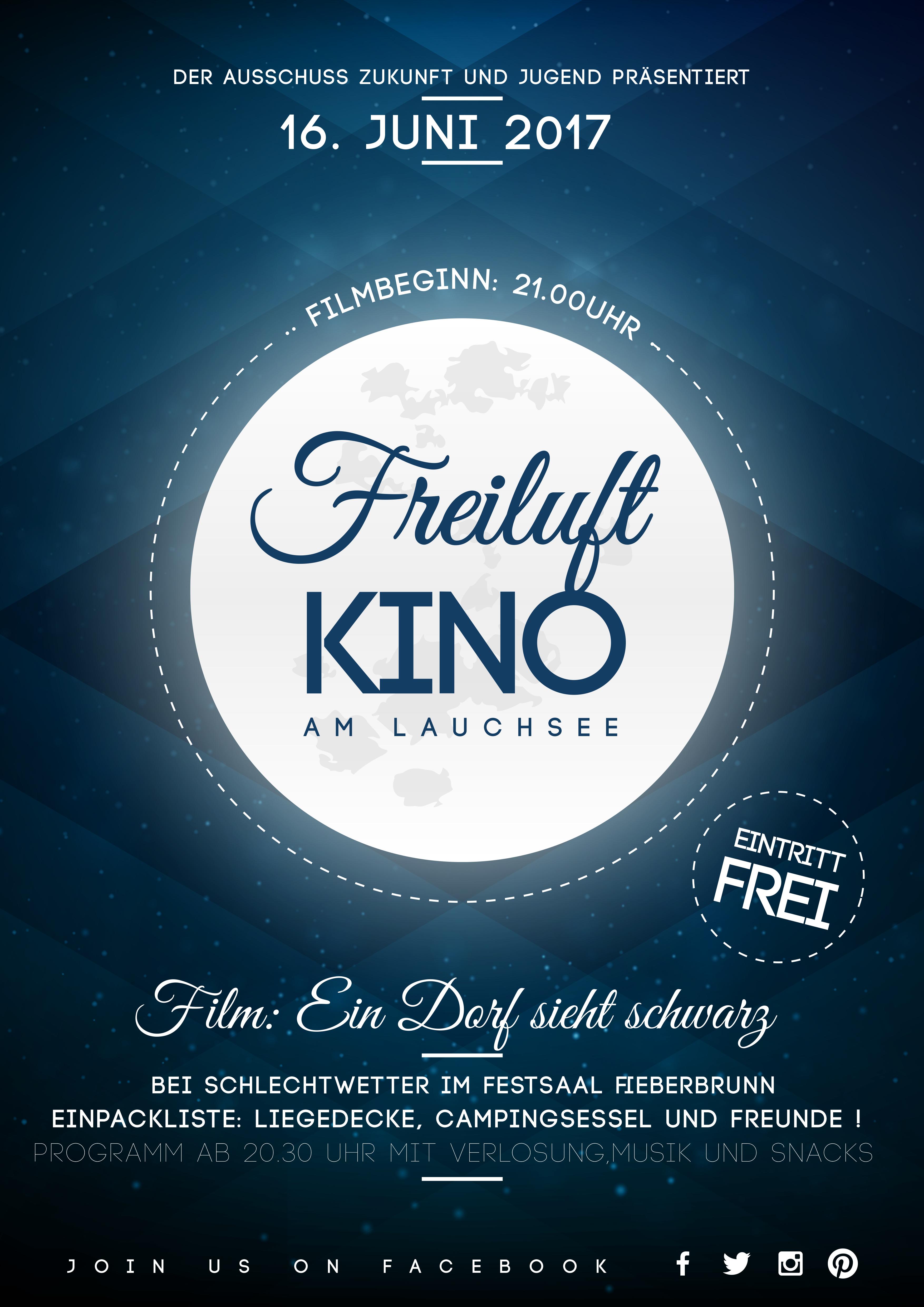 Plakat Freiluftkino