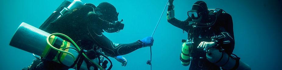 Nitrox dykare kan dyka längre och säkrare