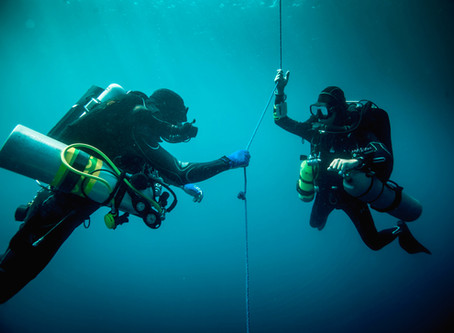 A lifelong partnership: why finding the right diving buddy matters