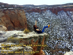 Never be average!