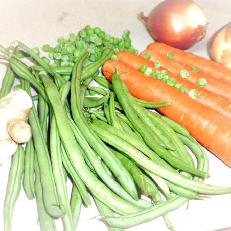 אורז הודי עם ירקות