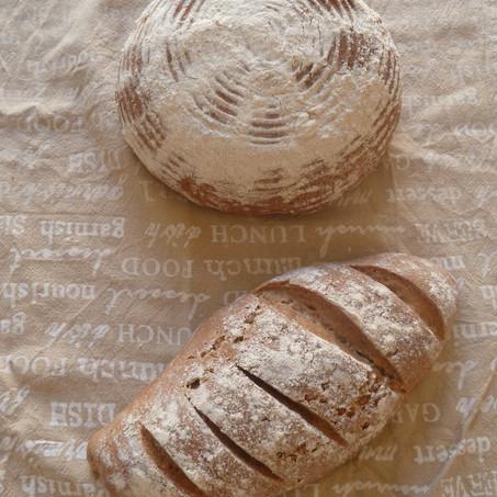 לחם מחמצת מקמח כוסמין