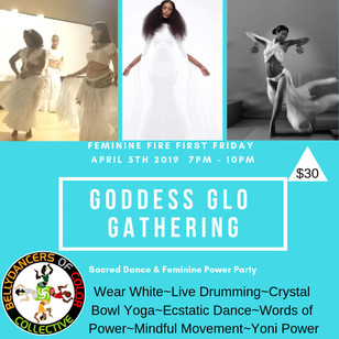 Goddess Glo Gather 4.5.2019
