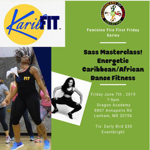 KaribFIT - Feminie Fire First Friday 6.7