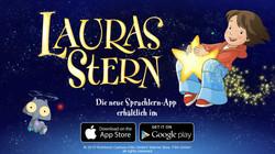 Lauras Stern Sprachlern-app