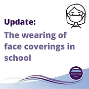 Update_ Wearing of face coverings in sch