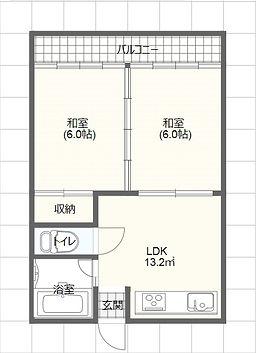 清水アパート,熊本市北区龍田,賃貸アパート