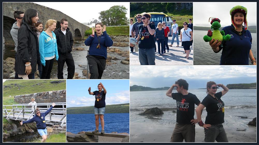 Lizzie Tour Guiding in Scotland