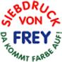 Siebdruck von Frey