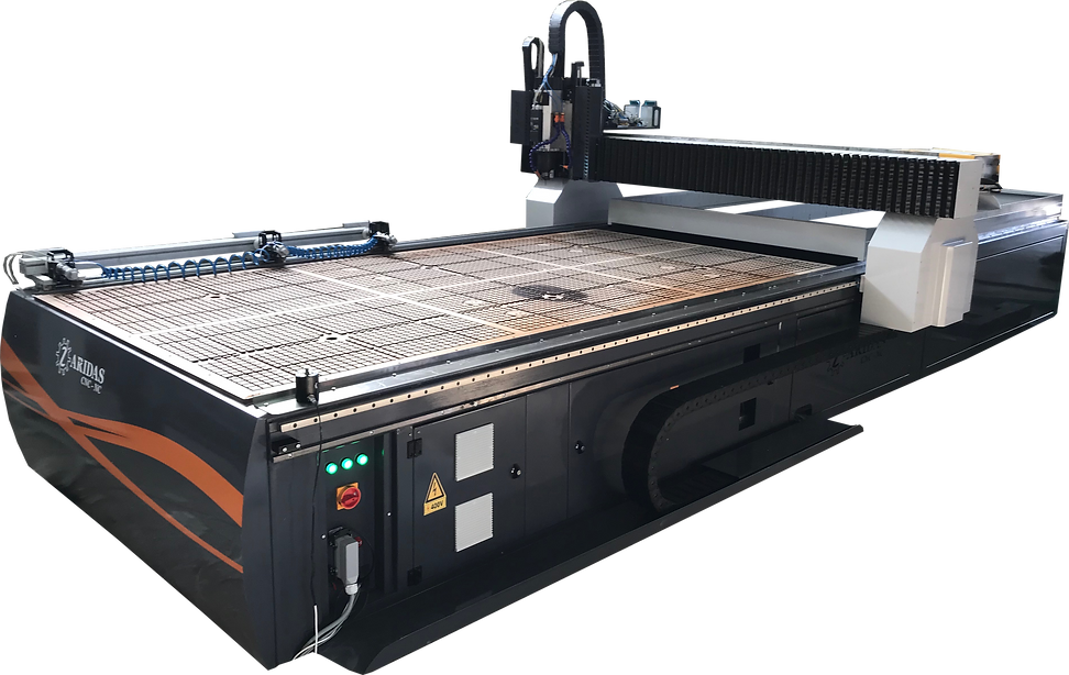 cnc router with laser