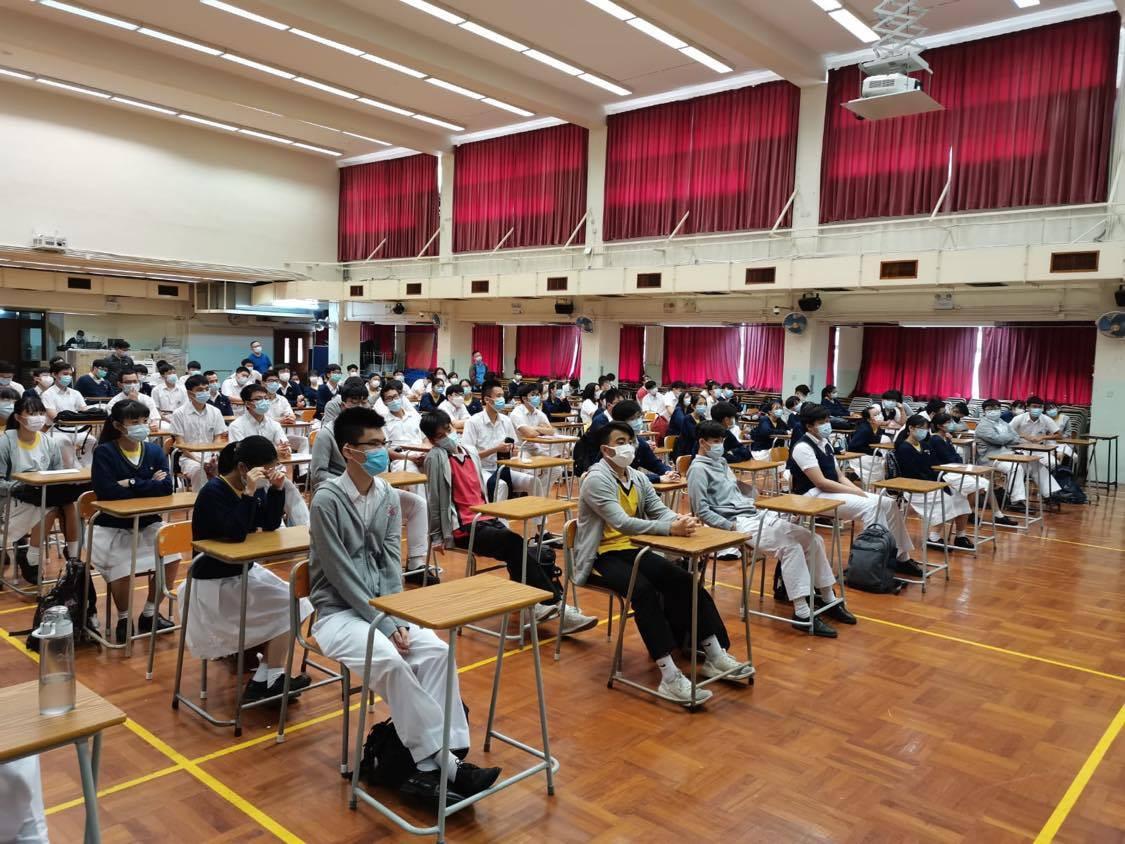 20201008香港道教聯合會圓玄學院第一中學宣講