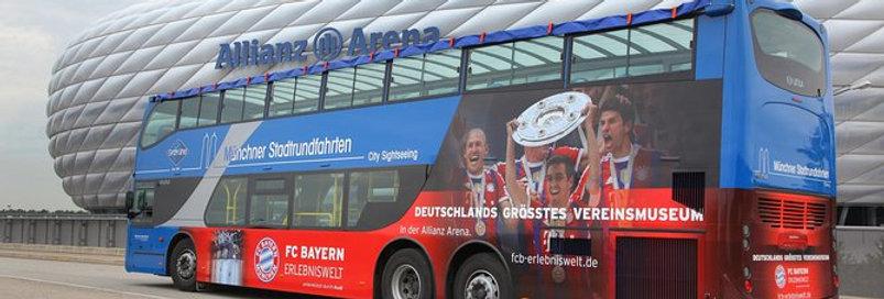 Activity - Munich City Tour including Allianz Arena