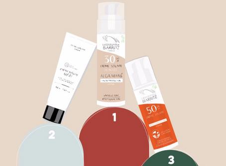 les crèmes solaires ok acné