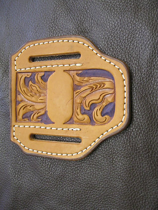 Custom Tooled large Knife Sheath