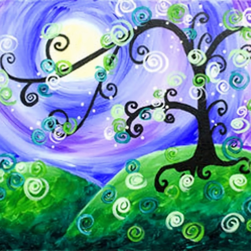 Family Friendly  Paint Night June 16 - 6pm
