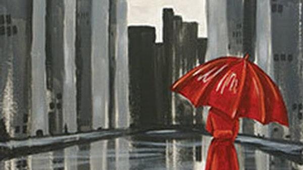 THE RED UMBRELLA.